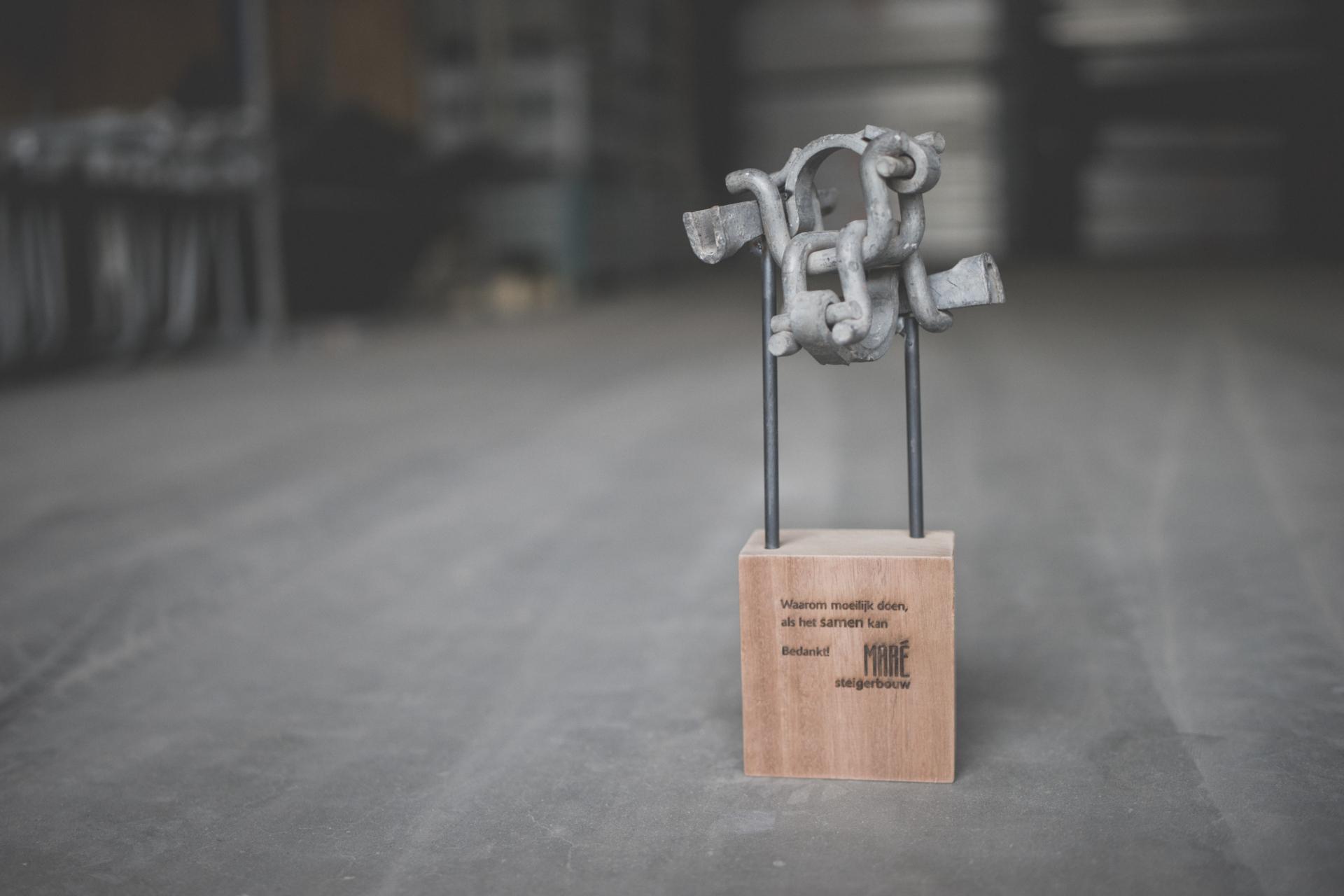 Robin Hendriks Scaffolding statue